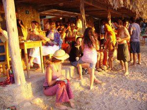 Spaanse Party-eiland Ibiza